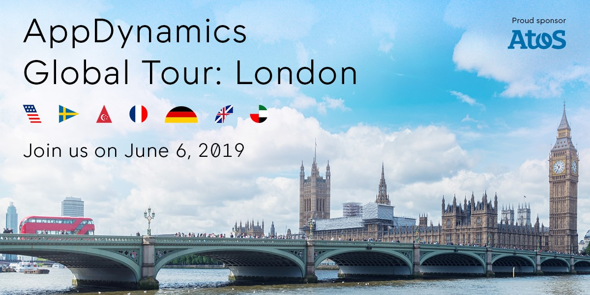 AppD Global Tour London 2019<br><br>