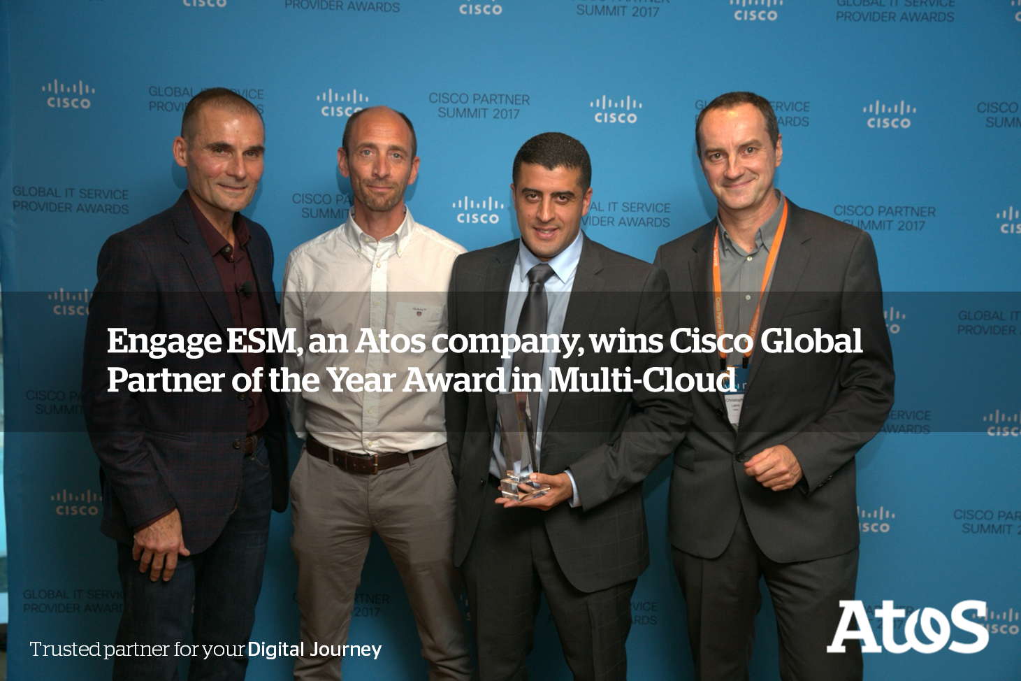 Engage ESM announces Cisco Software <br>Excellence Award in Multi-Cloud